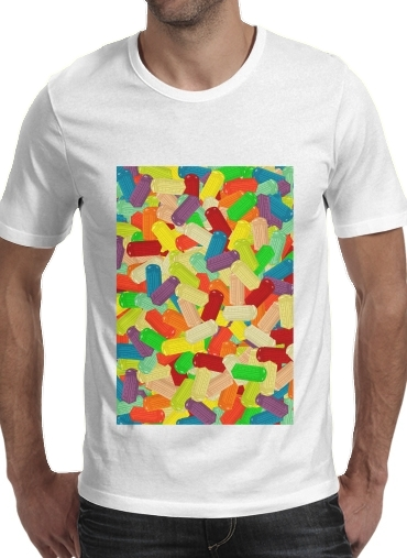 Gummy London Phone  for Men T-Shirt