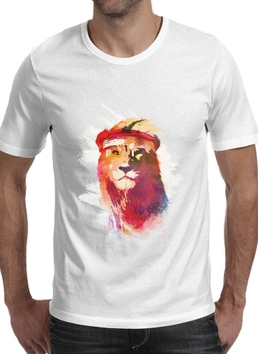 T-Shirts Gym Lion
