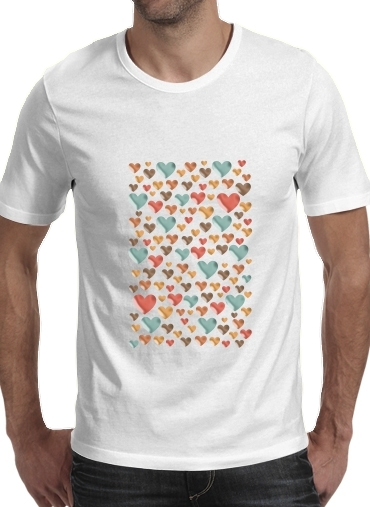 Hearts for Men T-Shirt