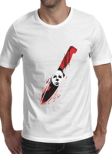 T-Shirts Hell-O-Ween Myers knife