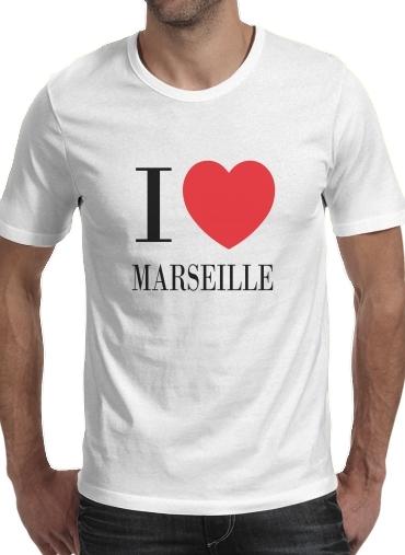 T-Shirts I love Marseille