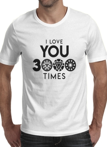 T-Shirts I Love You 3000 Iron Man Tribute