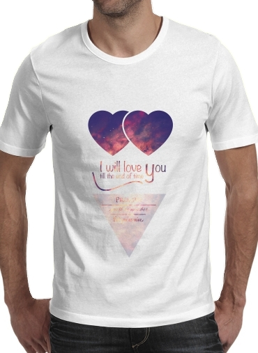 I will love you for Men T-Shirt