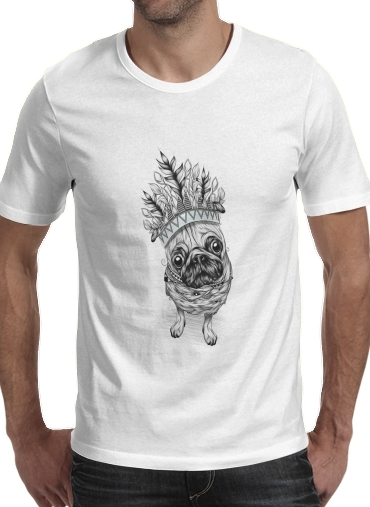 Indian Pug for Men T-Shirt