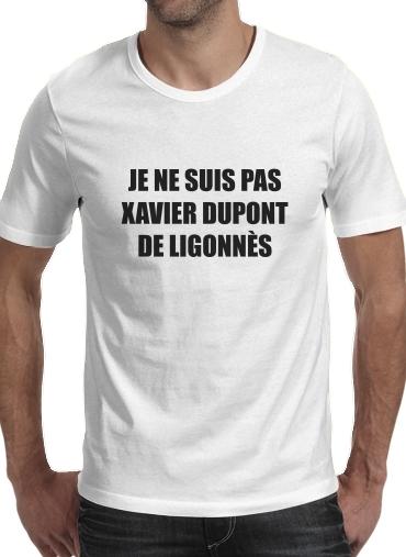 T-Shirts Je ne suis pas Xavier Dupont De Ligonnes Criminel