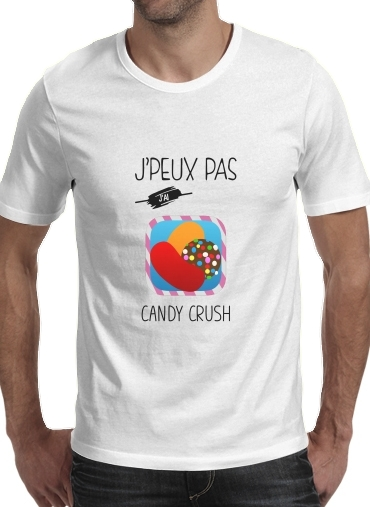 T-Shirts Je peux pas jai candy crush