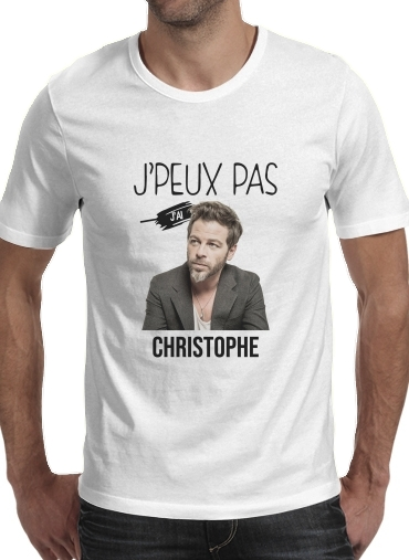 T-Shirts Je peux pas jai christophe mae