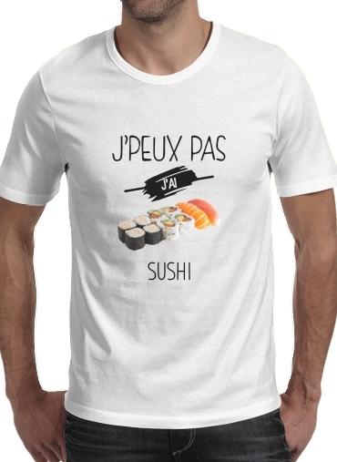T-Shirts Je peux pas jai sushi