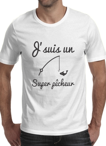 Je suis un super pecheur for Men T-Shirt