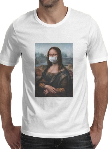 T-Shirts Joconde Mona Lisa Masque