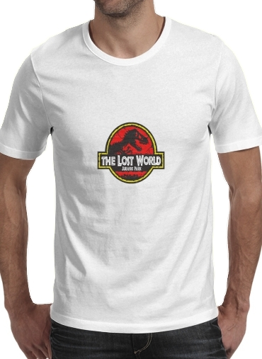 T-Shirts Jurassic park Lost World TREX Dinosaure