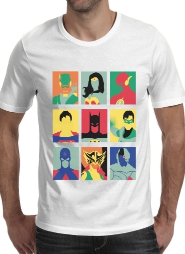 Justice pop for Men T-Shirt