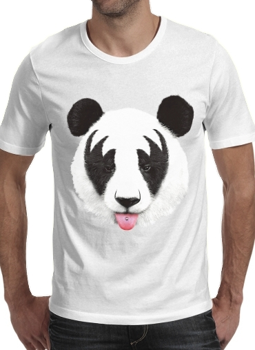 Kiss of a Panda for Men T-Shirt