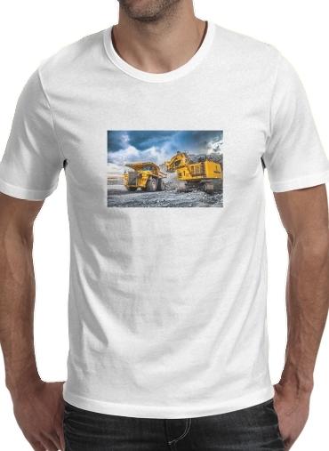 T-Shirts komatsu construction