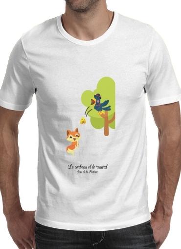 T-Shirts Le corbeau et le renard
