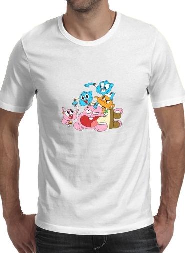 T-Shirts le monde incroyable de gumball
