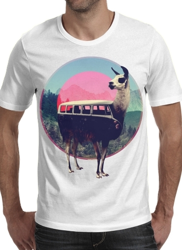 Llama for Men T-Shirt