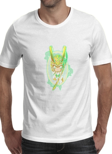Loki Portrait for Men T-Shirt