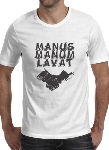 T-Shirts Manus manum lavat