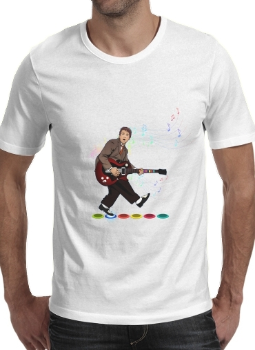 T-Shirts Marty McFly plays Guitar Hero