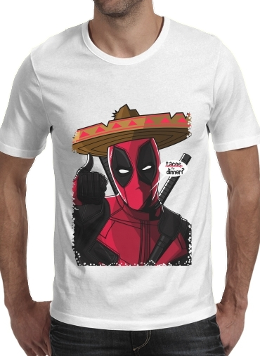 T-Shirts Mexican Deadpool
