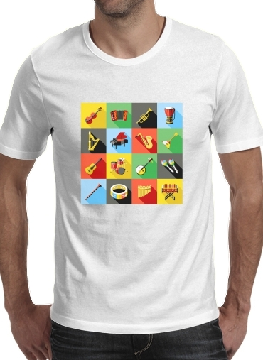 T-Shirts Music Instruments Co