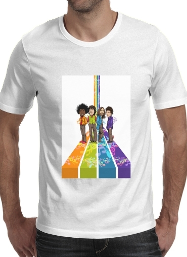 T-Shirts Music Legends: Lennon, Jagger, Dylan & Hendrix