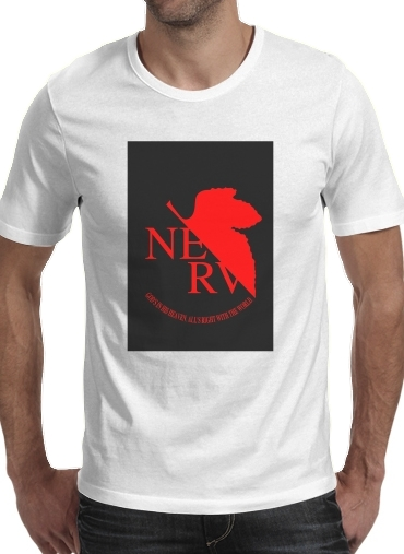 Nerv Neon Genesis Evangelion for Men T-Shirt