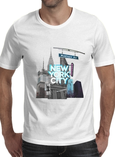 T-Shirts New York City II [blue]