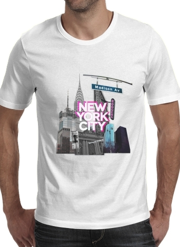 T-Shirts New York City II [pink]