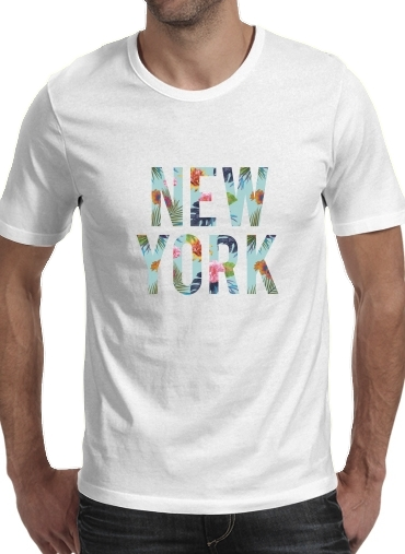 T-Shirts New York Floral