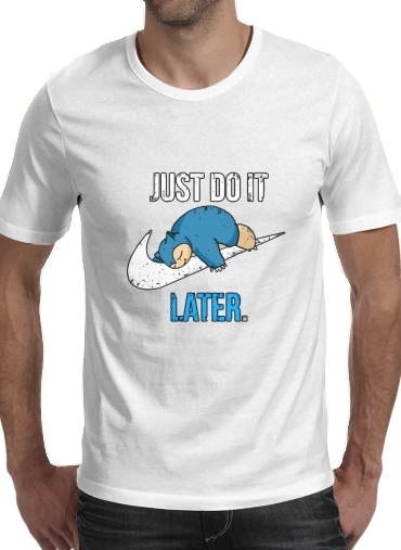 T-Shirts Nike Parody Just do it Late X Ronflex