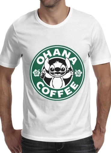 Ohana Coffee for Men T-Shirt