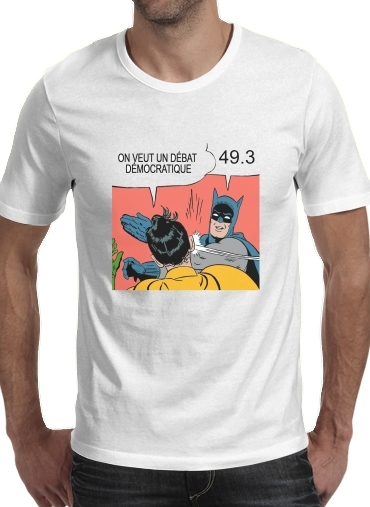 T-Shirts On veut un debat 493