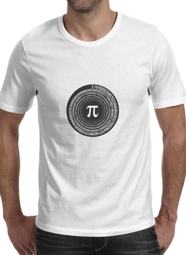 Pi Spirale for Men T-Shirt