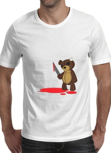 Psycho Teddy for Men T-Shirt