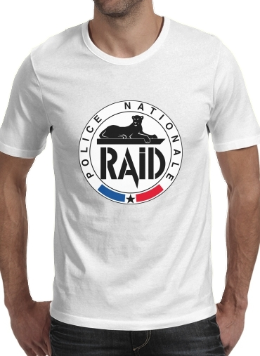 T-Shirts Raid Police Nationale