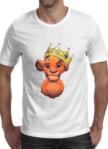Simba Lion King Notorious BIG for Men T-Shirt
