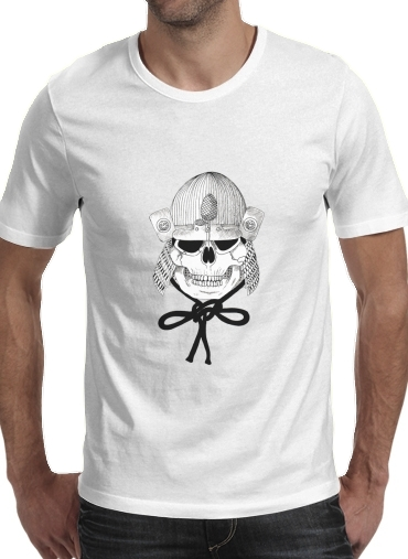 T-Shirts Skeleton samurai
