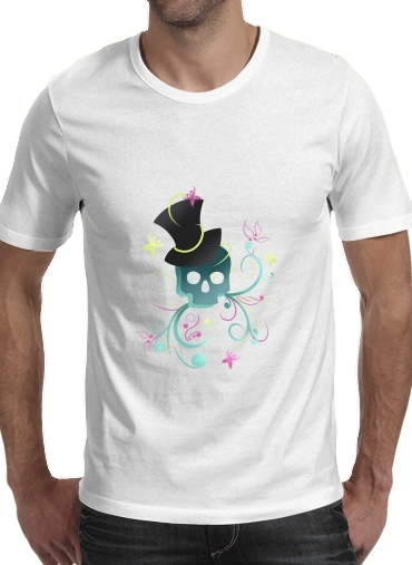 T-Shirts Skull Pop Art Disco