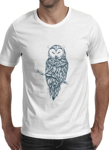 Snow Owl for Men T-Shirt