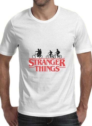 Stranger Things by bike for Men T-Shirt