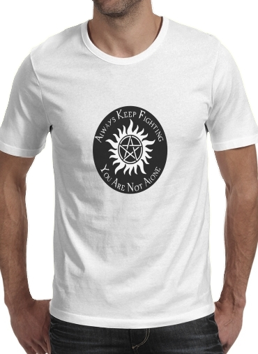 SuperNatural Never Alone for Men T-Shirt