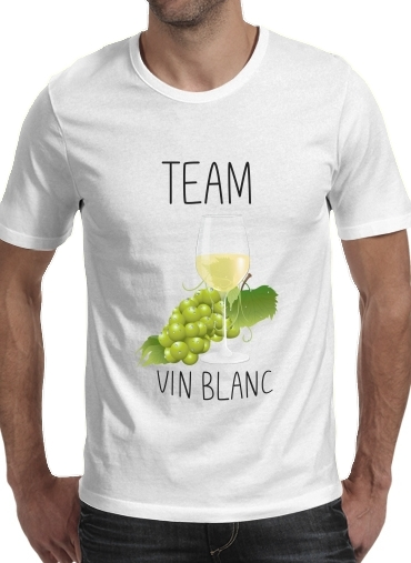 T-Shirts Team Vin Blanc