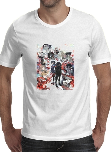 T-Shirts Tokyo Ghoul Touka and family