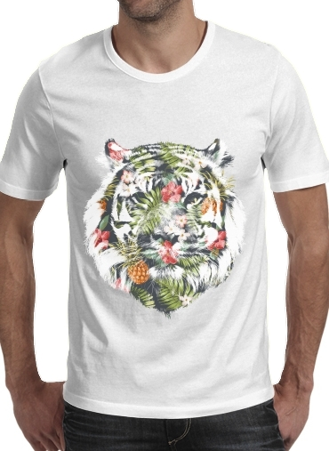 T-Shirts Tropical Tiger