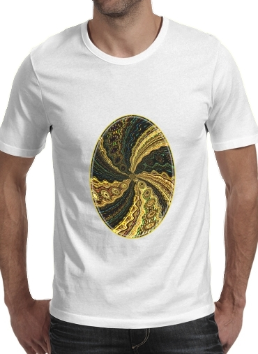 T-Shirts Twirl and Twist black and gold