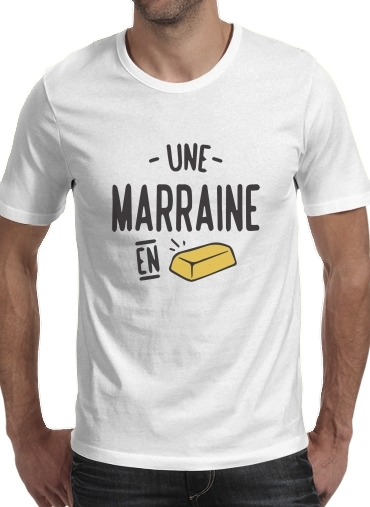 T-Shirts Une marraine en or