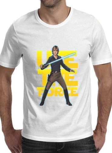 Use the force for Men T-Shirt