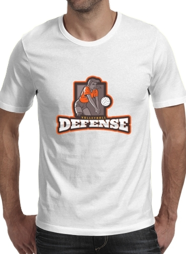 Volleyball Defense for Men T-Shirt